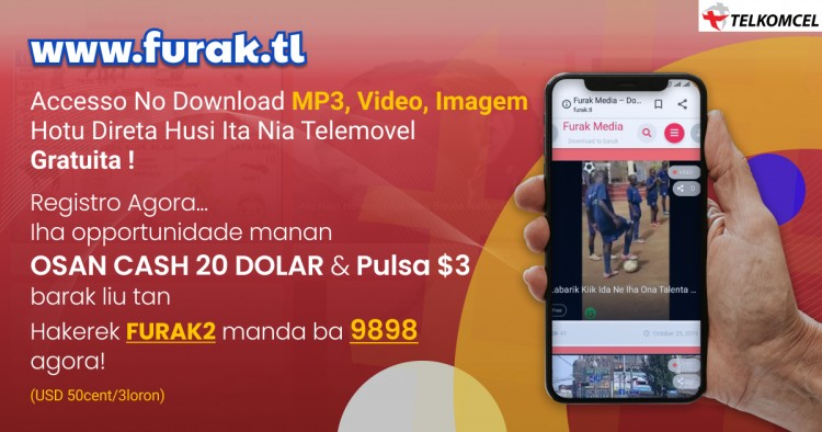 Download MP3, Video, Imagem Via Www.FURAK.tl