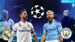 Manchester City Vs Real Madrid (08/08/2020) Goals & Highlights Tau Dari Blogger - TDB