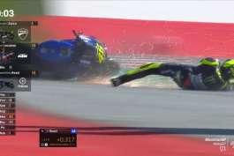 Vinales Hateten Iha Minutu Hirak Nebe Nia Crash Iha MotoGP Strya