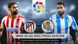 Atletico Madrid 1-1 Real Sociedad | LaLiga 19/20 Highlights
