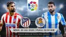 Atletico Madrid 1-1 Real Sociedad | LaLiga 19/20 Highlights