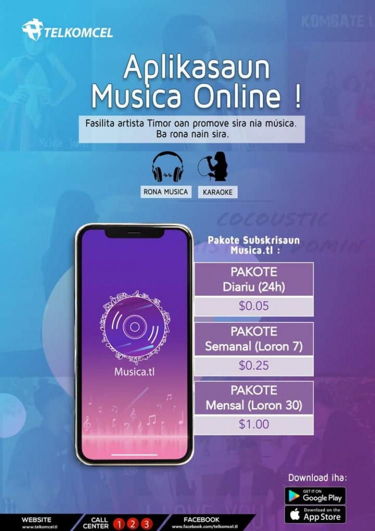 Musica Online Artista Timor Oan Tau Dari Blogger - TDB