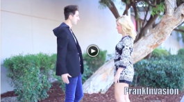 Kissing Prank