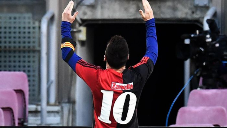 Cara Messi Kenang Maradona: Gocek 3 Pemain, Bikin Gol, Pakai Jersey El D10s Tau Dari Blogger - TDB