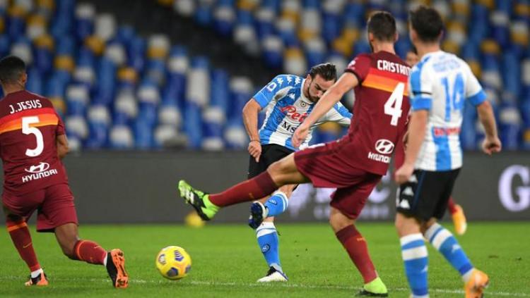 Napoli Vs Roma: Partenopei Jinakkan Serigala Ibu Kota 4-0 Tau Dari Blogger - TDB