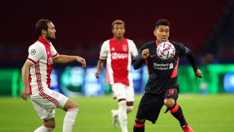 Ajax Vs Liverpool: Roberto Firmino Cs Manan Mihis 1-0 Tau Dari Blogger - TDB