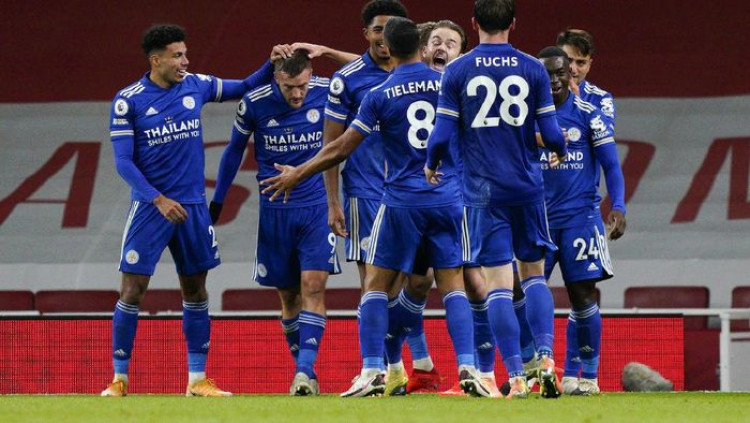 Arsenal Vs Leicester City: Gol Tunggal Vardy Kalahkan The Gunners Tau Dari Blogger - TDB