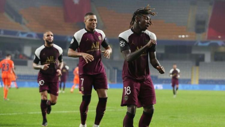 Moise Kean Cetak Brace, PSG Tumbangkan Istanbul Basaksehir 2-0 Tau Dari Blogger - TDB